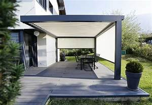 bildergebnis fur moderne pergola garten terrasse With markise balkon mit tapete metallic silber