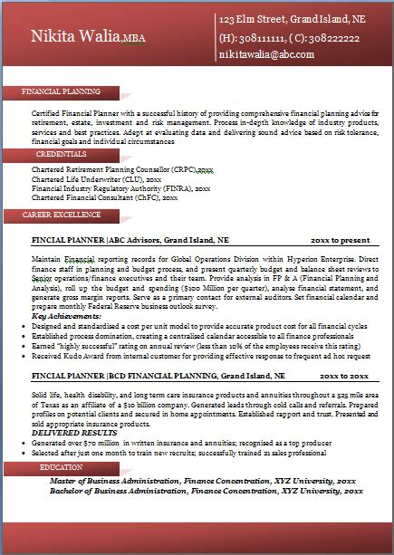 Exle Of Excellent Cv by Excellent Professional Resume Sle Format For All