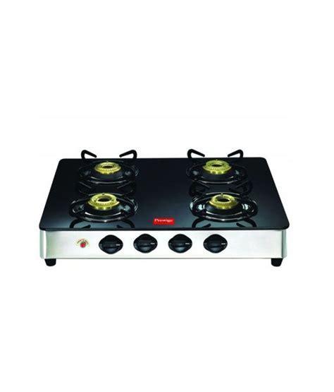 Prestige GT 04 4 Burner Gas Stove Price in India   Buy