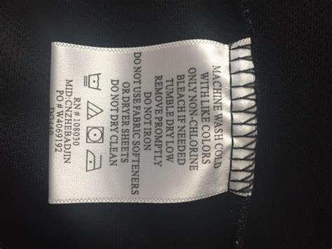 care label     heat printing