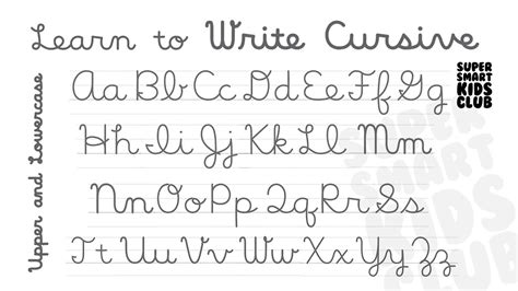 Introduction To Cursive Handwriting Youtube