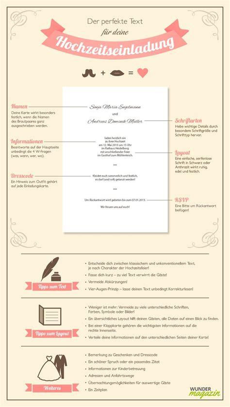 infografik zu hochzeitseinladung text wedding
