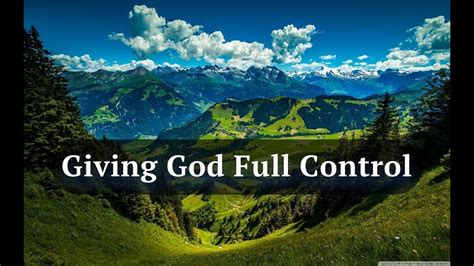 david wilkerson giving god full control full sermon