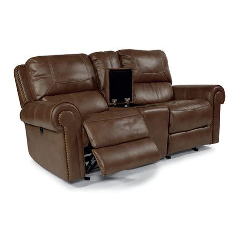 reclining loveseat fabric flexsteel 1664 604p weston fabric power reclining loveseat