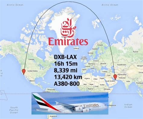 Top 20 Longest Airbus A380 Routes In The World