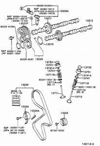 Toyota Camry Engine Camshaft Position Sensor  Sensor  Cam