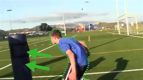 tackle football step wikihow steps