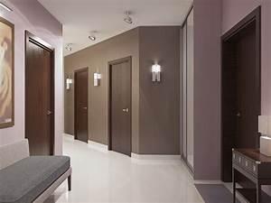 Porte De Couloir : peinture couloir tous les conseils pour peindre un couloir ~ Nature-et-papiers.com Idées de Décoration