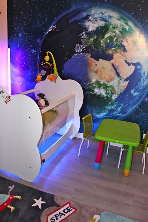 chambre enfant espace d 233 co chambre d enfant sur le th 232 me de l espace