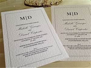 make your own wedding invitations daisy chain invites With make your own wedding invitations online uk