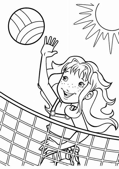 Coloring Pages Summer Printable Beach