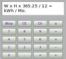 downlodable freeware convert watts to kwh calculator