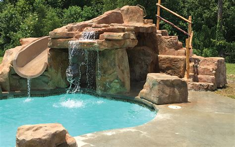 Cave Backyard by Why Caves And Grottos Are Easy Profitable Pool Add Ons