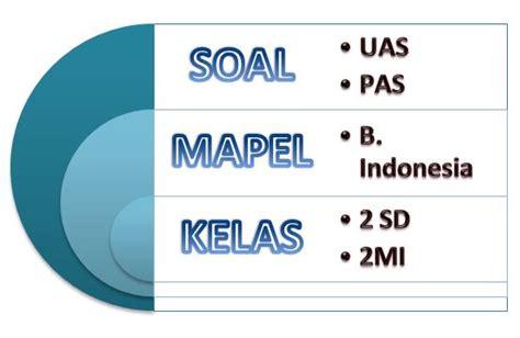 soal uas mapel bahasa indonesia kelas  semester