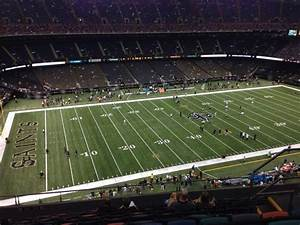 Tulane Stadium Seating Chart Mercedes Benz Superdome Section 618 Row 11 Home Of New