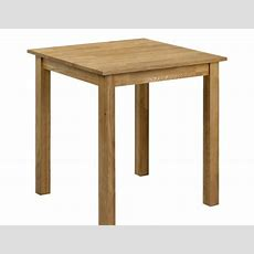 Belstone Square Oak Kitchen Table  Uk Delivery
