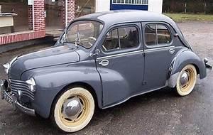 Cote Voiture Ancienne : 1952 renault 4cv voitures ancienne pinterest ~ Gottalentnigeria.com Avis de Voitures