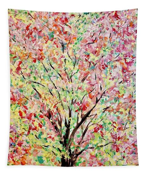 Spring Branches Painting Tapestry for Sale by Patty