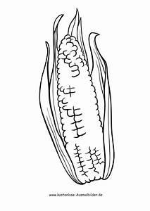 Gemüse Bilder Zum Ausdrucken : ausmalbilder mais lebensmittel zum ausmalen ~ A.2002-acura-tl-radio.info Haus und Dekorationen