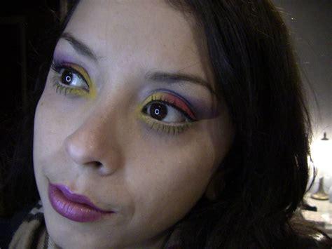 colorful bright eyeshadow tutorial   create