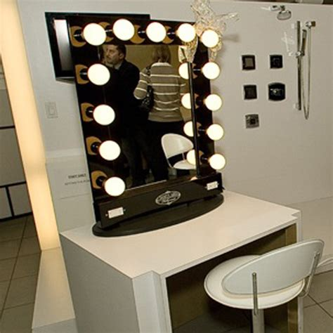 vanity table with lights around mirror vanity mirror with lights broadway lighted table top