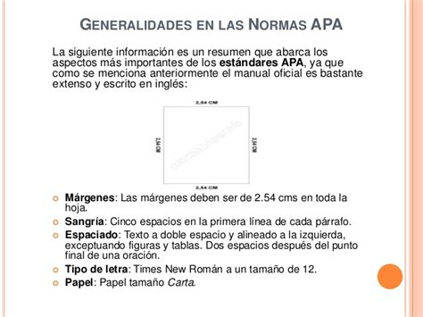 Normas Apa 2014 Para Resumen by Normas Apa