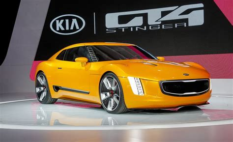 kia gt stinger concept   info news car