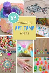 58 Summer Art Camp Ideas | Kids Art | Summer camp ...