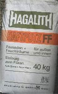 Putz Schleifen Per Hand : hagalith ff mischungsverh ltnis zement ~ Watch28wear.com Haus und Dekorationen
