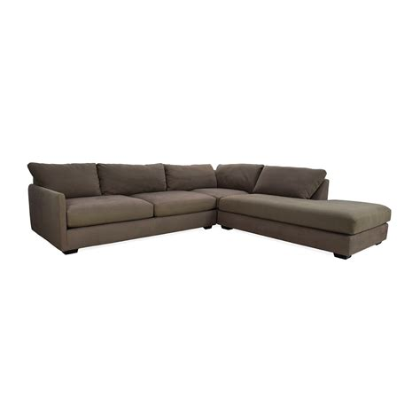 best crate and barrel sofa 82 off crate and barrel crate barrel domino sectional