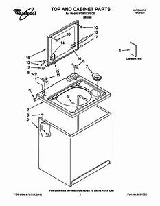 Whirlpool Wtw5530sq0 Washer Parts And Accessories At