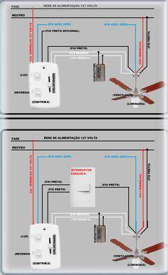 esquema de  circuito de conmutadores sencillo una lampara  dos conmutadores electricity en