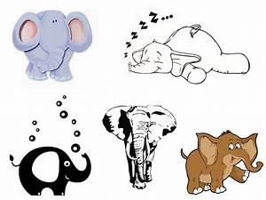 Wandtattoo Elefant Kinderzimmer : wandtattoo elefant f rs kinderzimmer oder wohnzimmer ~ Sanjose-hotels-ca.com Haus und Dekorationen
