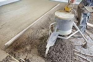 Estrich Dicke Fußbodenheizung : zementestrich richtig verlegen ~ Lizthompson.info Haus und Dekorationen