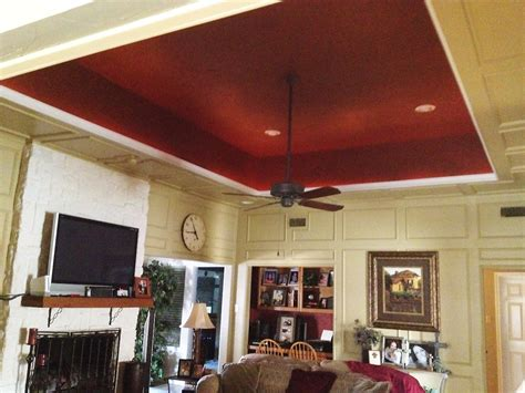How To Paint A Tray Ceiling by Painted Tray Ceiling Ware Painting