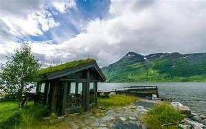 Norway House de la rivière la nature des images de fond hd ...