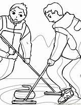 Coloring Winter Curling Printable Handipoints Ink Sport Activities Primarygames Cat Template Coloringpages101 Season Getcolorings Popular Craft sketch template
