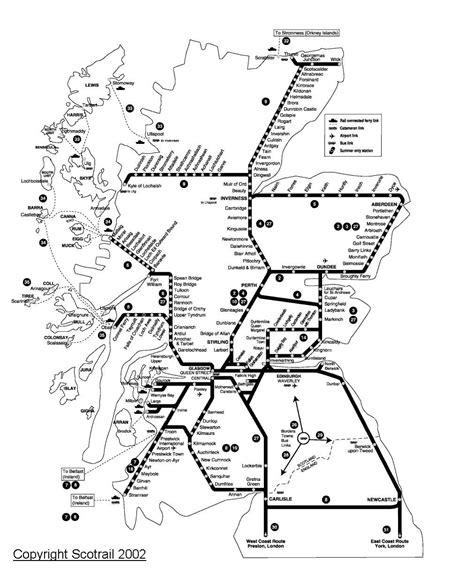 rail system  scotland    scotland