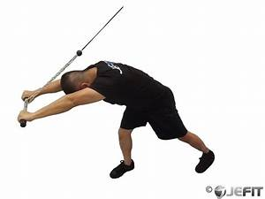 Cable High Pulley Overhead Tricep Extension - Exercise ...