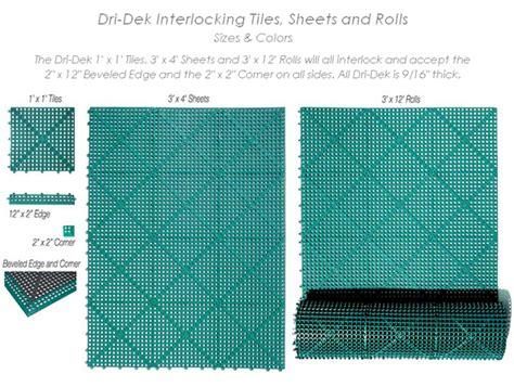 dridek drainage tiles are dridek tiles by american floor