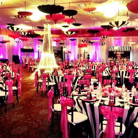 parisian prom theme a dit oui quot she said yes - Used Prom Decorations