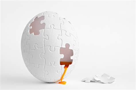 Digital Wallpaper White by Digital Creativity Puzzles Eggs White Background