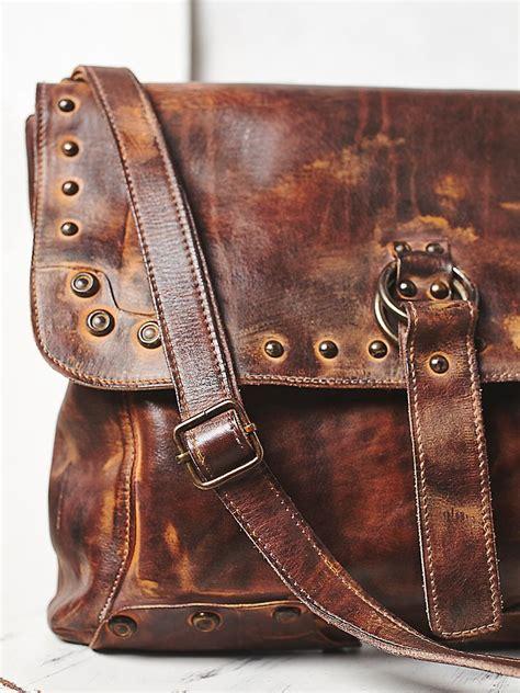 lyst  people thames messenger bag  brown