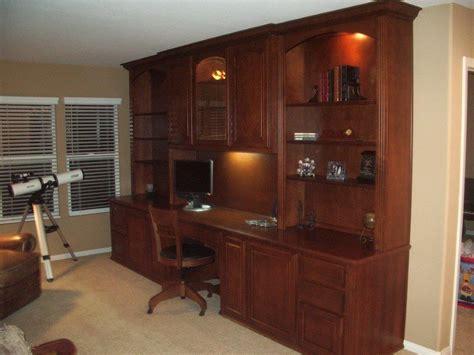 Built In Office Cabinets Desk Styles Yvotubecom