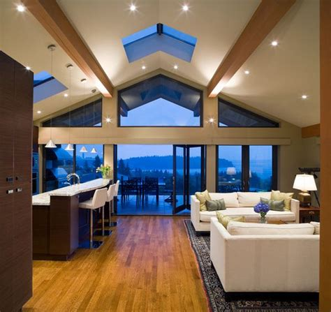 vaulted ceiling lighting solutions beautiful vaulted ceiling designs that raise the bar in style