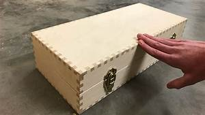 Can you finger joint all sides of a box? - YouTube