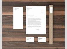 Stationery Branding MockUp GraphicBurger