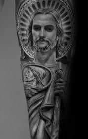 What Does San Judas Tadeo Tattoo Mean?   Ideas & Designs