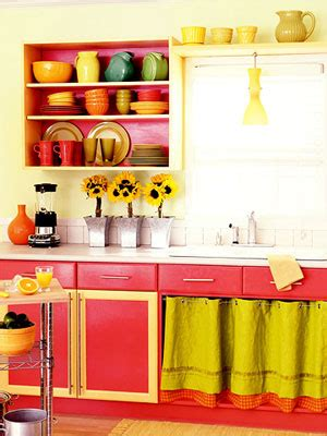 Bright Colors In The Kitchen?