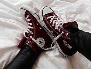 red converse on Tumblr